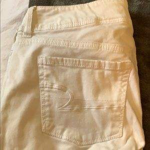 American Eagle Outfitters Jeans - White American Eagle Super Stretch Pants